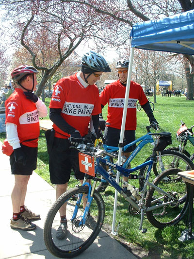 Patrollers at Earth Day 2008